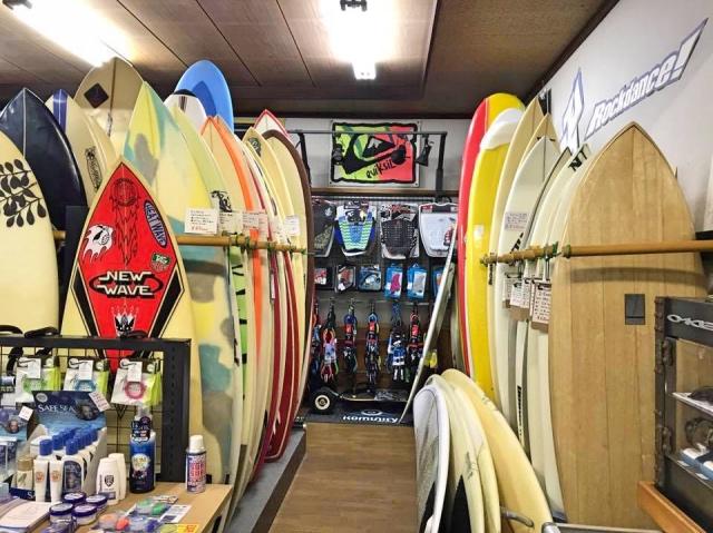 宮崎のサーフショップ&サーフィンスクール ニューウェーブ