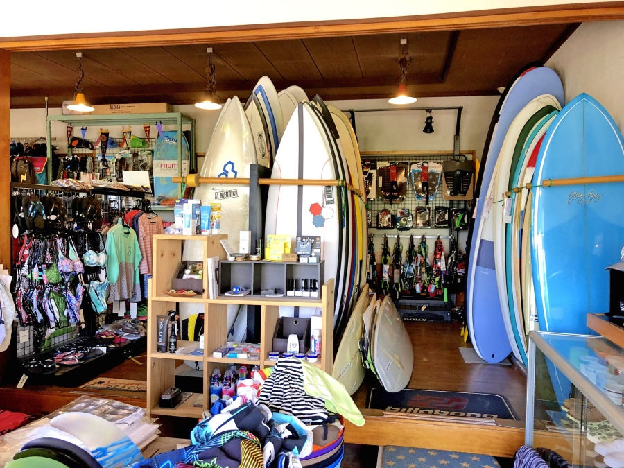Surf Shop inside